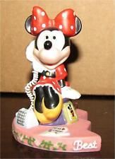 Disney Minnie Mouse on phone - 1 part of 2 piece set Figure / Figurine - Wdw