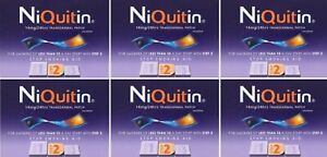 Niquitin Thinflex Step 2 14mg 6x Boxes (42 Patches = 6 Week Supply) EXPIRYDEC20