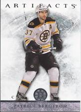 Patrice Bergeron #70 2012-13 Upper Deck Artifacts NHL Hockey Card Boston Bruins