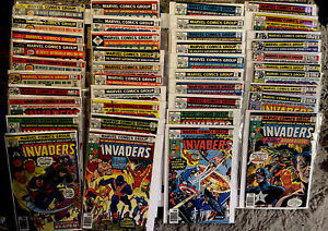 THE INVADERS #1-40 *LOT OF 40* BRONZE AGE MARVEL COMICS! 1975. FN/VF. Marvel