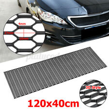 47'' X16'' Universal Car Front Bumper Honeycomb Hexagon Grille Mesh Vent 3D DIY
