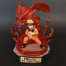 "Naruto Nine Tailed Fox 6"" Resin Statue Figure Number Us Seller"