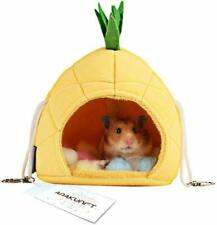 2 Pack of Hamster Bedding, Sugar Glider Cage Accessories Hammock, Hamster House