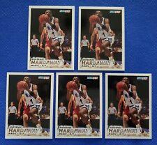 ANFERNEE HARDAWAY (9) ROOKIE Card LOT 1993-94 Fleer #343 Hoops #380 Magic