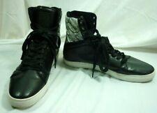 Android Homme High Sneaker Black Snake Detailing AHB11016 Sz 12 Men's 20B030