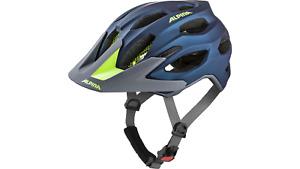 Alpina Fahrradhelm CARAPAX 2.0 / Gr: 57 - 62 darkblue neon  Enduro Fahrrad Helm