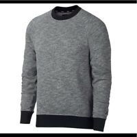 Nike SB Everett Dark Grey Mens Crew Sweatshirt- NEW
