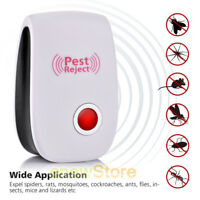 US Electronic Ultrasonic Pest Reject Mosquito Cockroach Mouse Killer Repeller