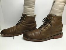 VTG MENS COLE HAAN CASUAL BROWN SHORT BOOTS SIZE 10.5 M