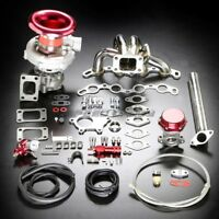 4AGE T04E STAGE II TURBO CHARGER MANIFOLD UPGRADE KIT BOOST FOR 85-91 MR2/AE86