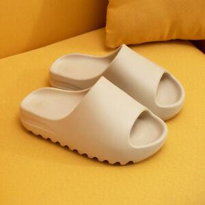 2021 Couple Slides Breathable Beach Sandals Flip Flops Flat Shoes Pillow Sandals