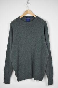 PENDLETON WASHABLE WOOL Men's X LARGE Melange Crew Pullover / Sweater 31567_GS