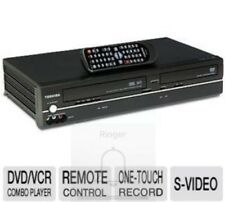 TOSHIBA SD-V296 DVD VCR Combo Player 4-Head Hi-Fi VHS Recorder with Remote Nice