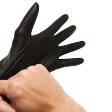 100/box White/Blue/Black Med/Large/XL Nitrile Gloves Powder Free FDA Foodservice