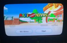 Mario Power Tennis  (Wii, 2009) New Play Control! Complete Tested