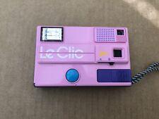 Le Clic Disc Camera - Pink - Original Case - Excellent Condition - Flash Works