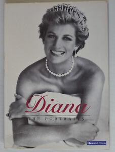 DIANA - The Portraits - Herald Sun - colour photos x 10 - as new condition