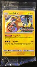 Pokemon SM Black Star Promo Raichu SM72 Prerelease Pack Sealed Near Mint!