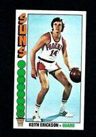 NMT 1976 Topps Basketball #4 Keith Erickson.