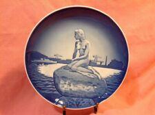 The little Mermaid Plate honouring Hans Christian Andersen's fairytale Copenhage