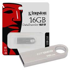 PENDRIVE USB KINGSTON USB 2.0 16GB CHIAVETTA 16 GB MEMORIA SE9 DTSE9H/16GB