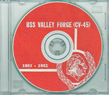 USS Valley Forge CV 45 1951 52 3rd Korea Cruise Book CD