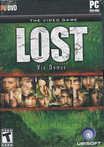 LOST Via Domus ABC Adventure PC Video Game NEW in BOX!
