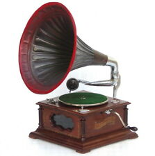 GENUINE ANTIQUE LEOPHONE MODEL 315 GRAMOPHONE MUSIC RECORD PLAYER PHONOGRAPH