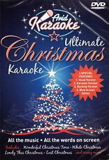 DVD:ULTIMATE CHRISTMAS KARAOKE - NEW Region 2 UK