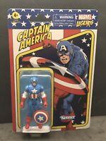 Hasbro Kenner Marvel Legends Retro 3.75 Captain America New Avengers 2021 Figure