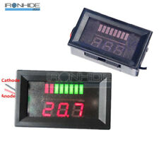 5-15mA 12V Lead-acid Lithium Red LED Indicator Battery Capacity Tester Voltmeter