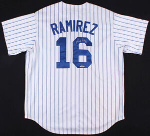Aramis Ramirez Signed Majestic MLB Official Chicago Cubs Jersey (Fanatics Holo)