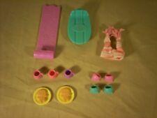 Littlest Pet Shop Snowfall fun and Winter lot of accessories 12 piece LPS