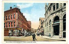 Norwich Conn CT -WOOLWORTH 5&10 STORE-MAIN & SHETUCKET STREET- Postcard