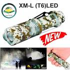 6000 Lumens Zoomable T6 LED 5 Modes Flashlight Torch Zoom Lamp Outdoor Light NEW