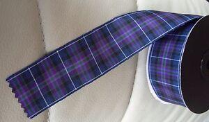 Pride of Scotland Modern Ribbon 4 widths 25 metre rolls