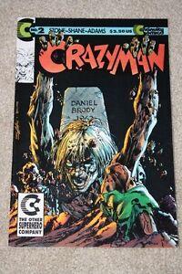 CRAZYMAN #2 MAY 1992 CONTINUITY COMICS (FINE-VF)