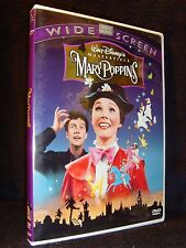 Disney's•Mary Poppins•Masterpiece Edition (DVD, 1998, Widescreen) Mint!