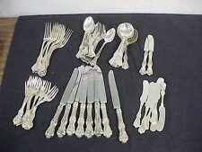 "56pc Frank W Smith ""Federal Cotillion / Edward VII""  Sterling Silver Flatware"