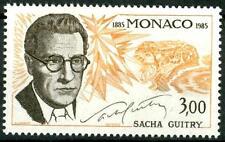 """MONACO - 1985 - """"Le Arti"""". Anniversari della nascita di Sacha Guitry -"""