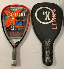 """Vintage Spalding Pro Extreme Light+ 21"""" Graphite Racquetball Racquet - Brand New"""