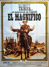 Affiche cinéma western EL MAGNIFICO Trence Hill - 120 x 160 cm