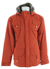 2009 NWOT MENS FOURSQUARE J.O JACKET $240 L Orange 15k waterproof snow