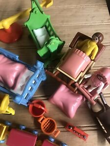 Playmobil Victorian Mansion Children's Bed Toys Accessories