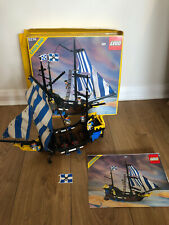 Vintage Lego 6274 Caribbean Clipper Pirates Ship Complete Box Instructions
