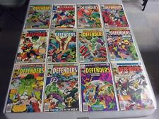 DEFENDERS MIXED BRONZE AGE LOT (VALKYRIE/HULK/STARTS AT #31)