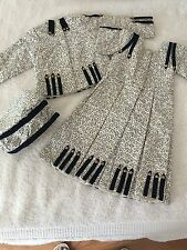 """Vintage Styled 3 piece Doll Dress Jacket and Matching Tam Size 21-25"""""""