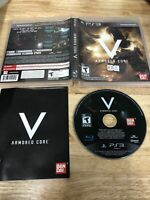 Armored Core V 5 Sony PlayStation 3 Ps3 2012 Complete