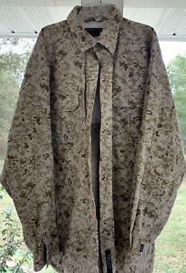 511 5.11 Tactical Series Mens Long Sleeve Shirt Digital Camo XL 72157 Vented
