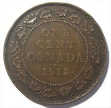 CANADA LARGE 1 CENT KING GEORGE V 1912